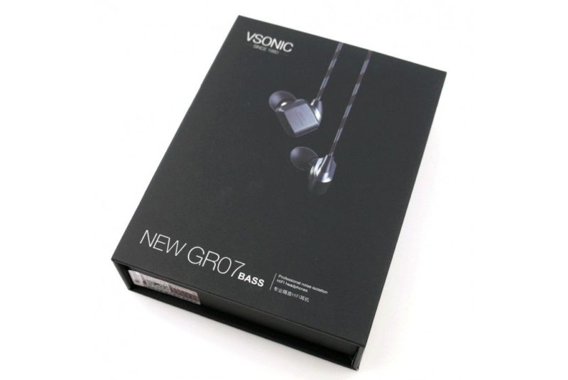 VSonic GR07 Bass Edition Auriculares equilibrados y grave profundo