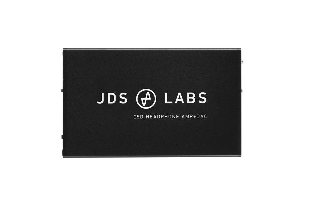 JDS C5D. Powerful headphones amplifier and DAC