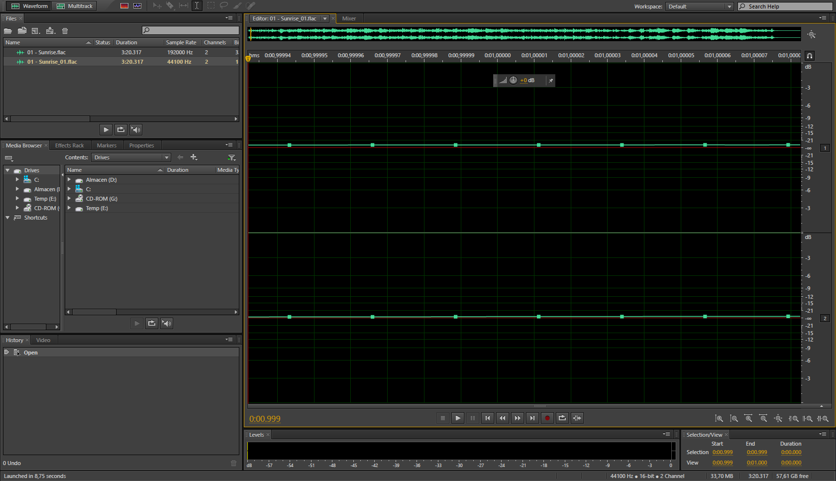 Formatos de audio en baja resolución