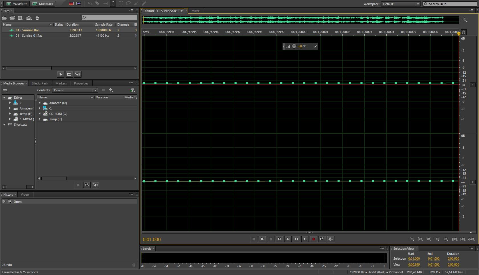 Formatos de audio en alta resolución