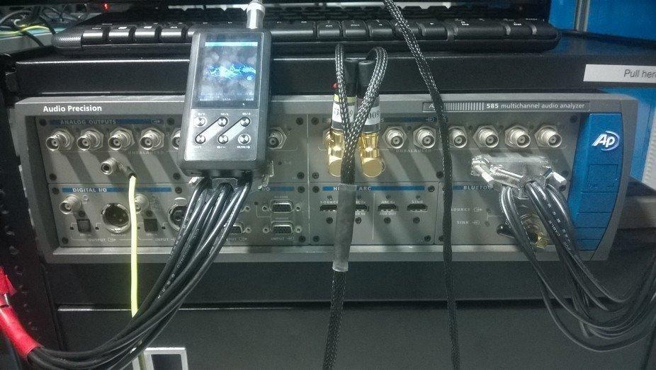 audioprecision sonido calidad