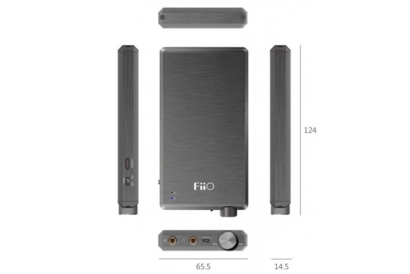 FiiO Mont Blanc E12A. Portable Headphone Amplifier IEM Special Edition.