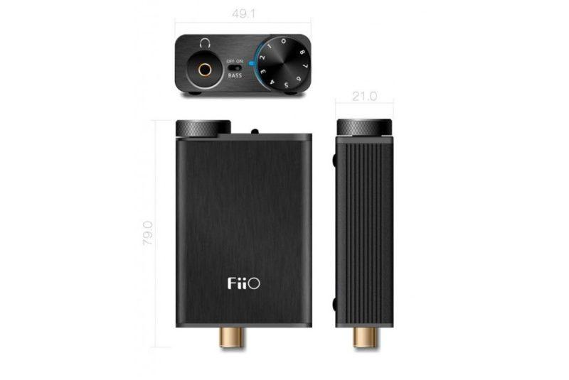 FiiO E10K Olympus USB DAC Headphone Amplifier