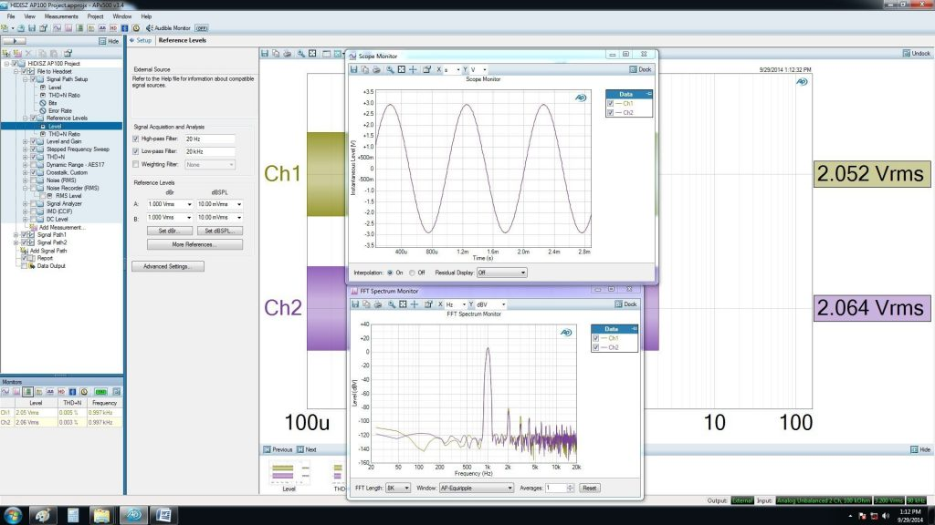 Fig 8 HIDISZ AP100 Review Max output 16 ohms
