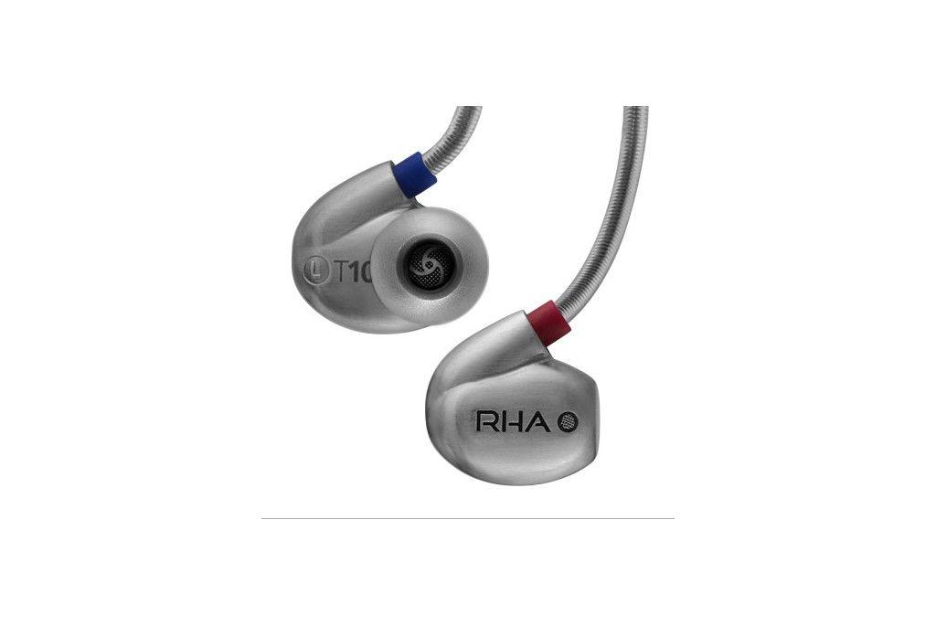 RHA T10. High fidelity, noise isolating in-ear headphone