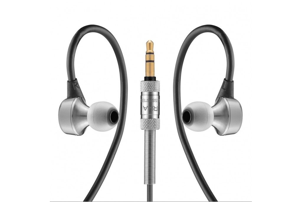 RHA MA750. Noise isolating, premium, in-ear headphones.