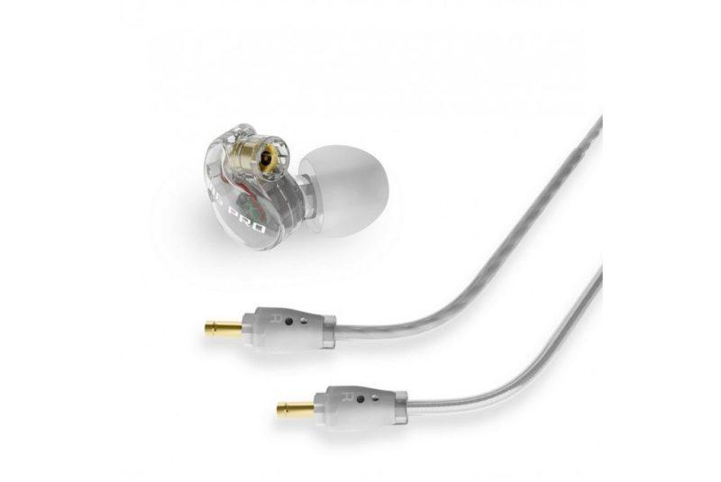 MeeAudioM6 PRO Auriculares in-ear universales con aislamiento de ruido y cables intercambiables blanco
