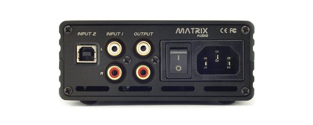Amplificador de auriculares y DAC Matrix M-Stage HPA2 USB 3