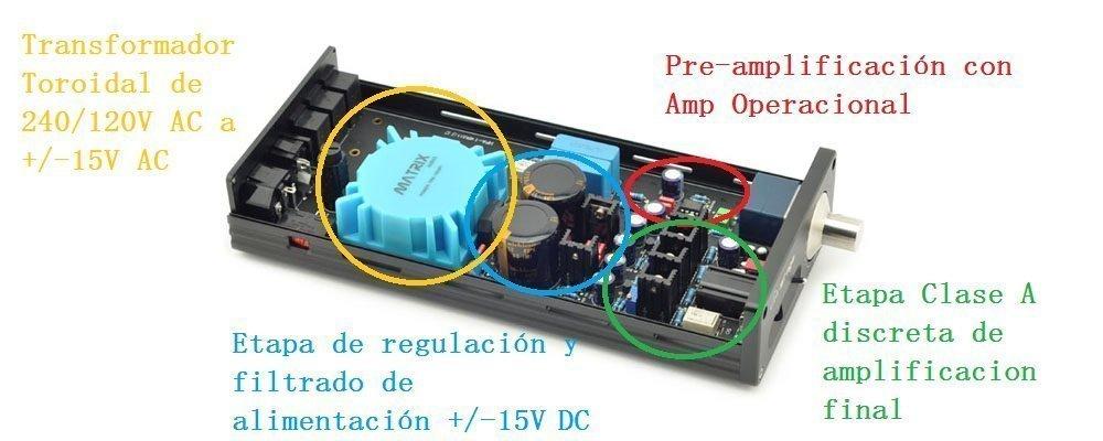 Foto Matrix M-Stage II USB DAC internal details 2