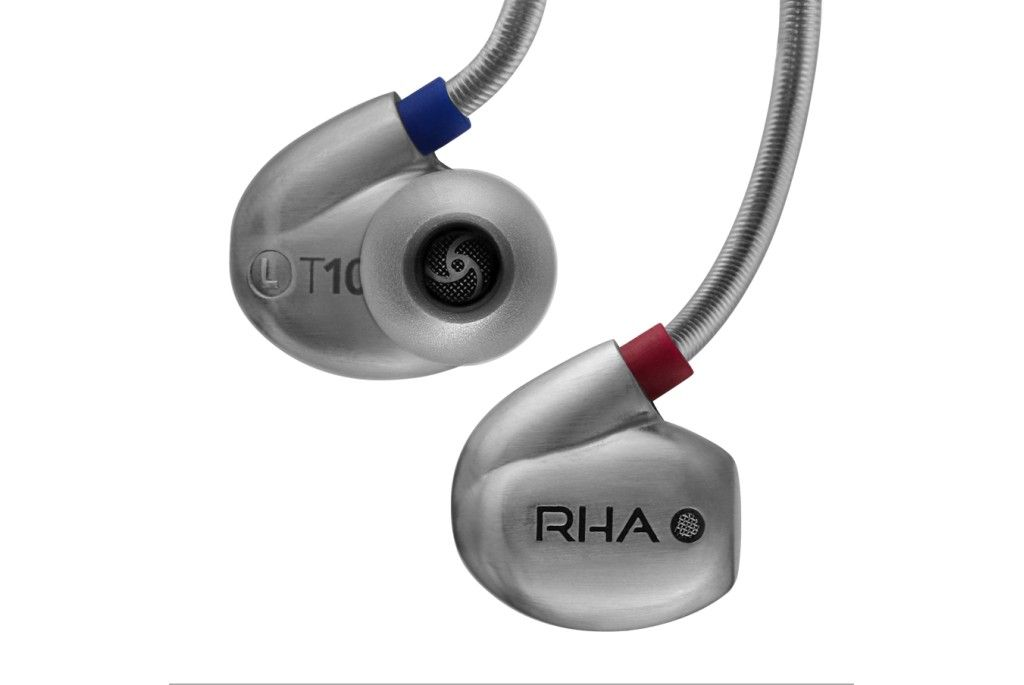 RHA T10i. High fidelity, noise isolating in-ear headphone with remote and microphone
