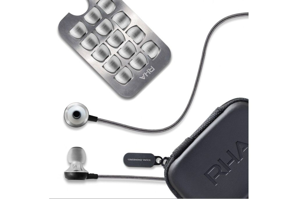 RHA MA600i. Noise isolating, in-ear headphone with remote and microphone.