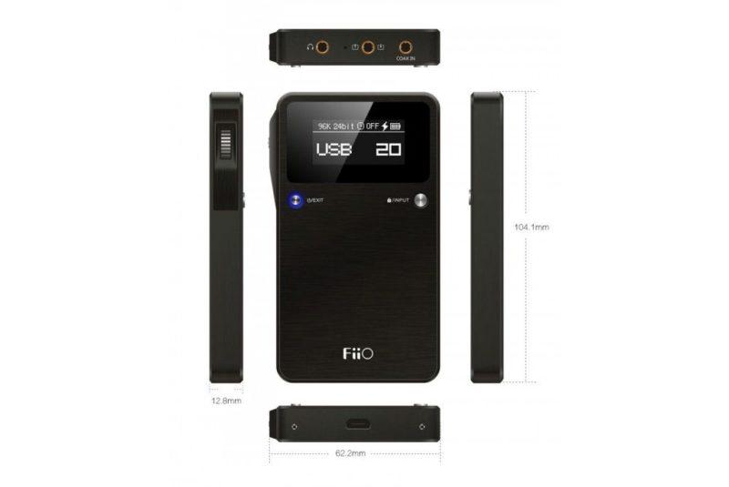 FiiO E17K Alpen 2. Portable USB DAC/AMP