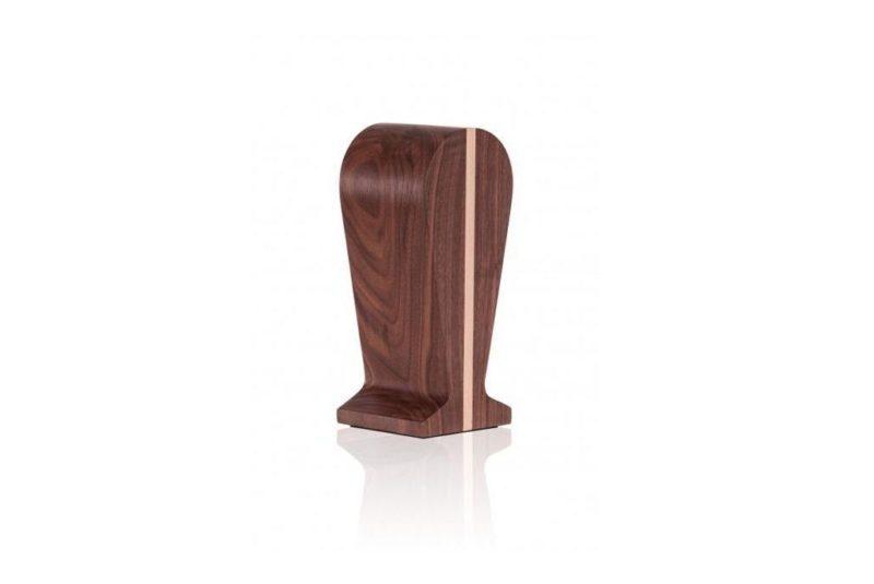 Soporte de madera para auriculares. Soporte Nogal Essential Amati 9