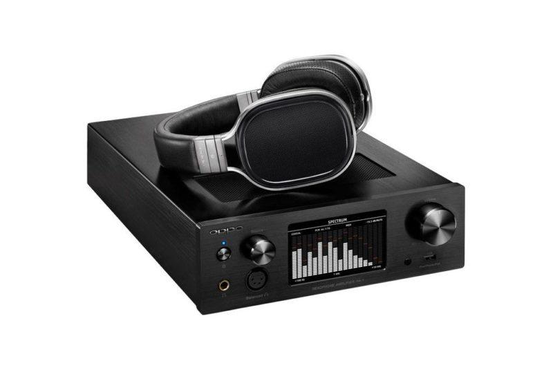 Oppo HA-1. Headphones audio amplifier and DAC USB