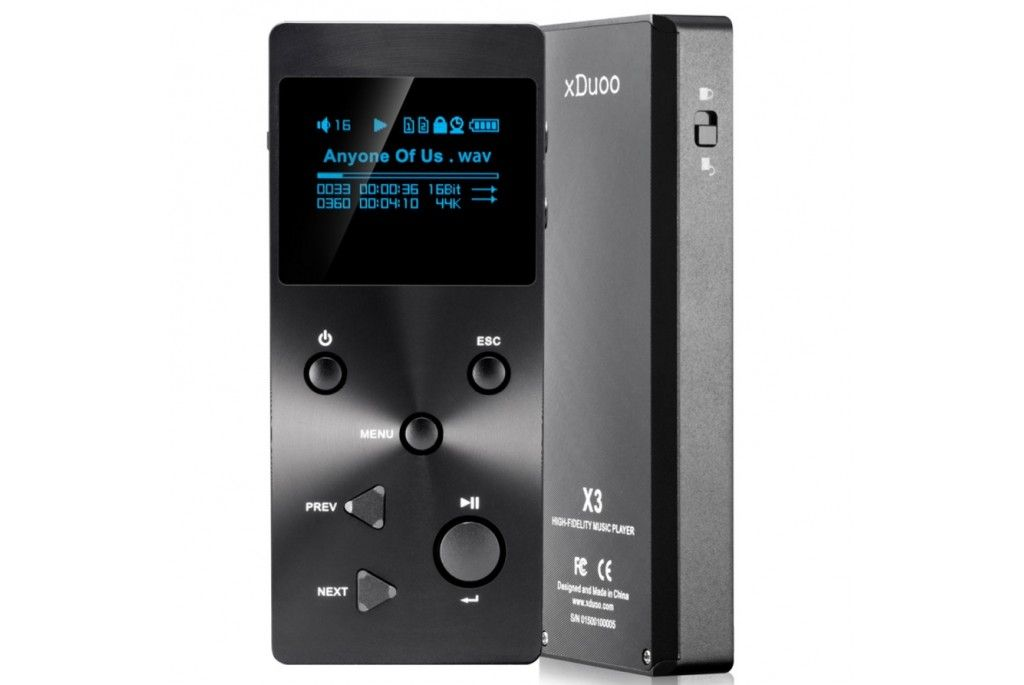 xDuoo X3 High performance digital audio player