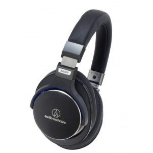 Audio Technica ATH-MSR7. Closed-back portable headphones.