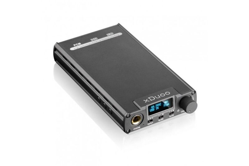 xDuoo XD-05. Portable headphone amplifier and DAC