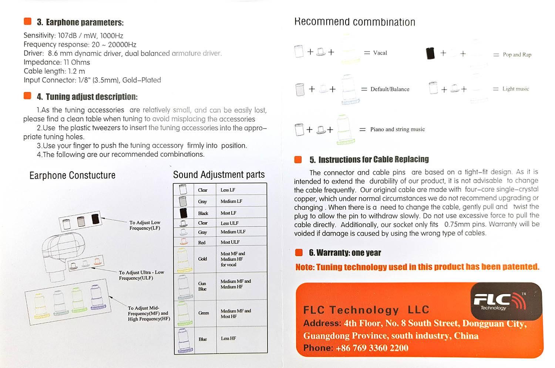 instrucciones uso flc8s