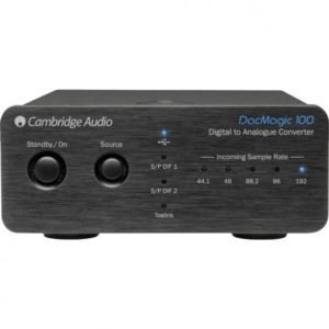 Cambridge Audio DacMagic 100. Digital to analogue converter DAC