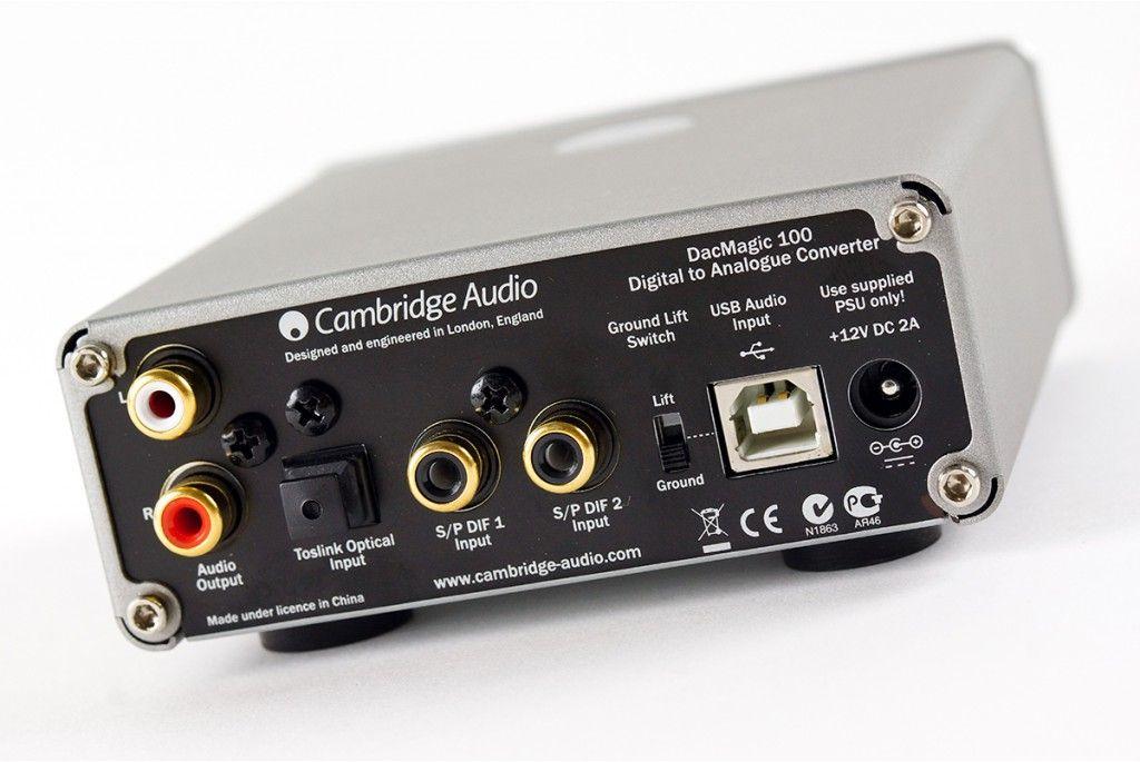 Cambridge Audio DacMagic 100 convertidor de digital a analógico