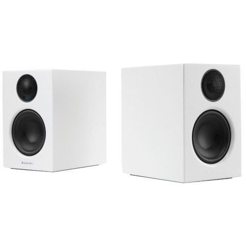 Audio Pro Addon T14 Wireless speakers, bigger sound smaller speakers white