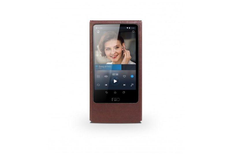 FiiO LC-X7A. Leatherette case for FiiO X7 Android audio player