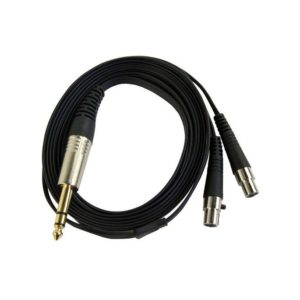 Cable Single Ended - Jack 6,3 mm Mini-XLR 4 pin Audeze LCD