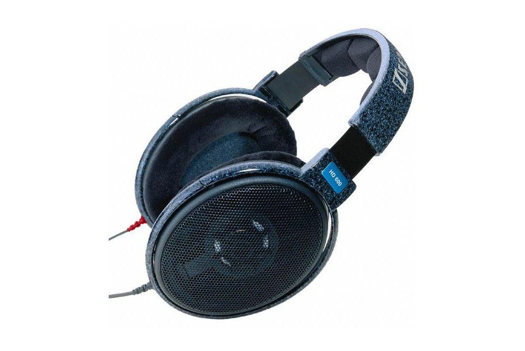 Sennheiser HD 600. Dynamic open-back reference headphones.