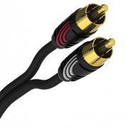QED Profile Precision Cable de audio 2 RCA macho a 2 RCA macho