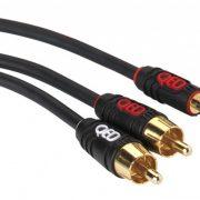 QED Profile J2J Cable de audio analógico Jack 35mm stereo macho 2 x RCA macho