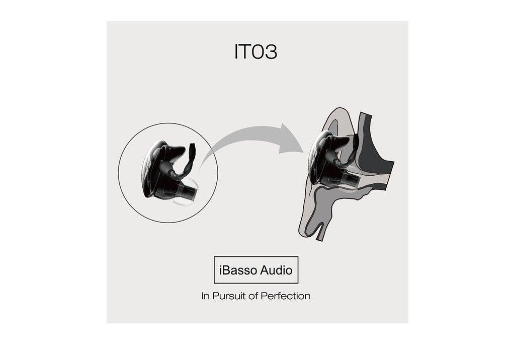 iBasso IT03 Auriculares in ear híbridos Hi End