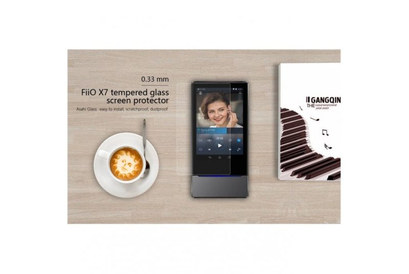 FiiO PF-X7 Protector de pantalla de vidrio templado para FiiO X7