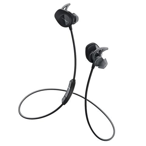 Bose SoundSport Wireless Black Auriculares Bluetooth deportivos
