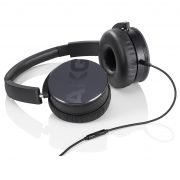 AKG Y50. Closed-back portable headphones with mic.