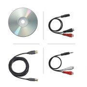 Audio Technica AT-LP60-USB Stereo Turntable USB & Analog