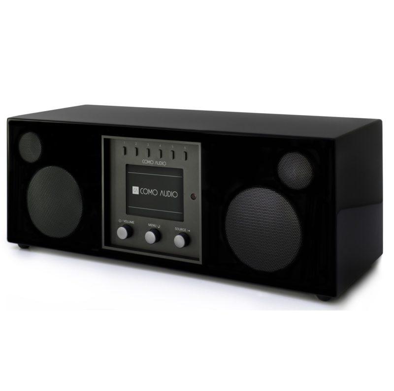 Como Audio DUETTO Bluetooth radio and stereo speaker black