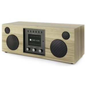 Como Audio DUETTO Bluetooth radio and stereo speaker Hickory