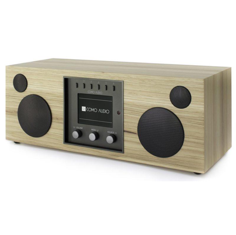 Como Audio DUETTO Altavoz estéreo nogal americano