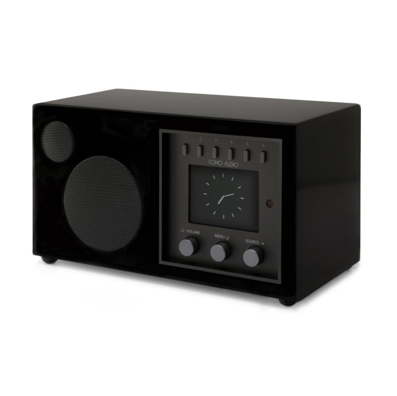 Como Audio SOLO. Radio speaker with Bluetooth Black