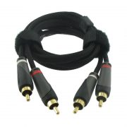 Connect Prestige audio cable 2 RCA to 2 RCA