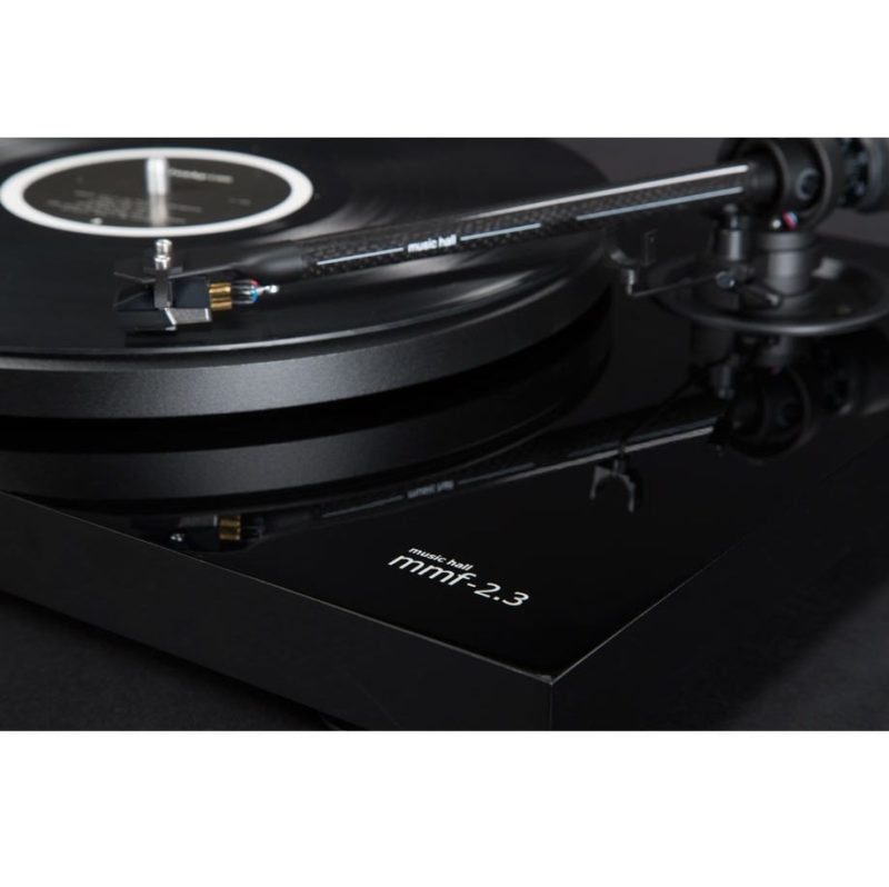 Music Hall MMF 2.3. Audiophile turntable with a 2-speed belt driven