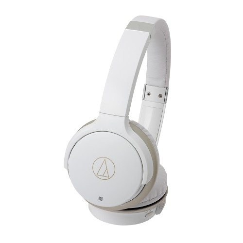 Audio Technica ATH-AR3BT Wireless Bluetooth on-ear headphones White