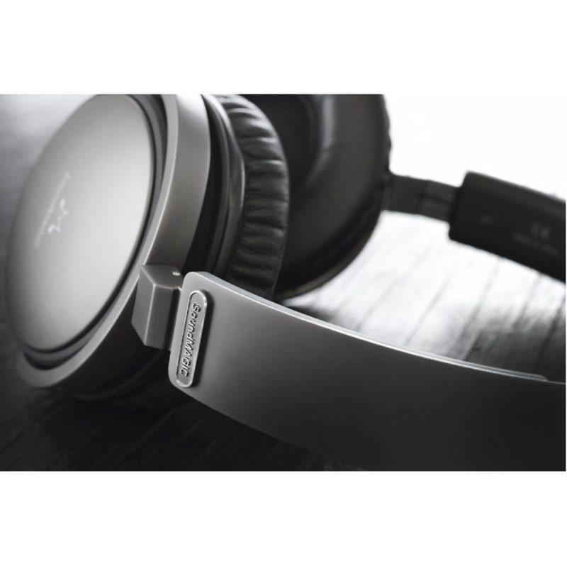 SoundMAGIC Vento P55 Auriculares circumaurales cerrados con micrófono y mando de control