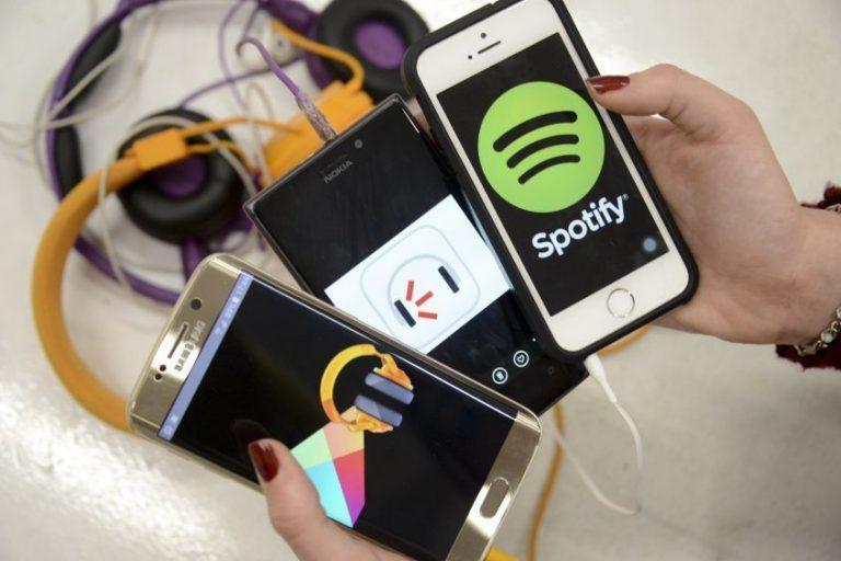 Música en streaming.