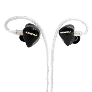 Kinera H3 Hybrid triple driver in-ear IEM black