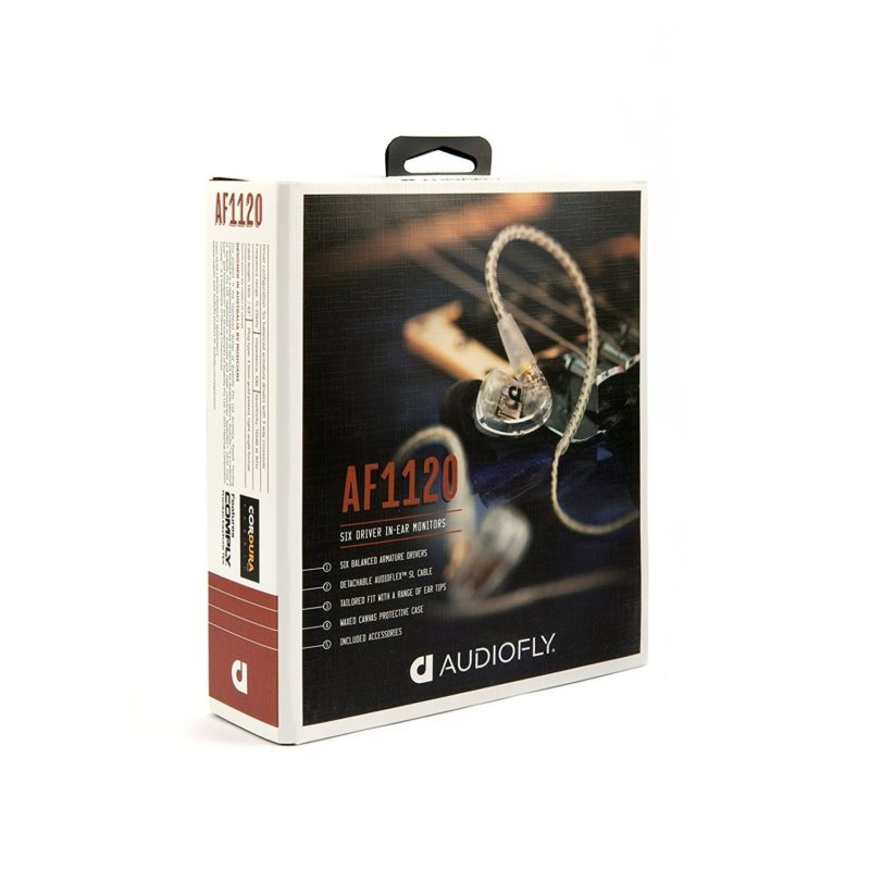 Audiofly AF1120 hybrid 6 balanced armatures drivers in-ear monitor 4