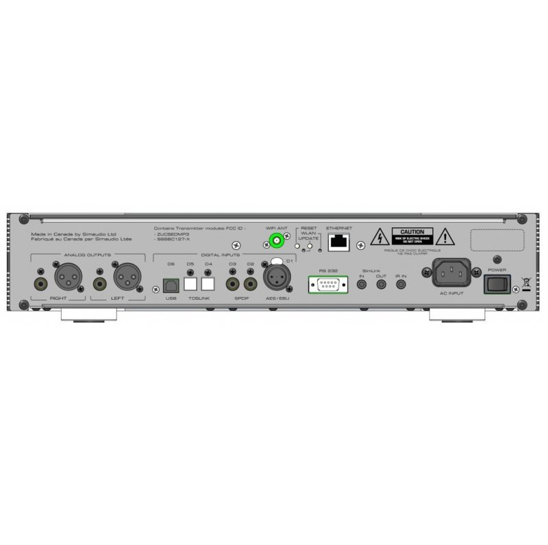 MOON Neo 280D Convertidor de digital a analógico DAC