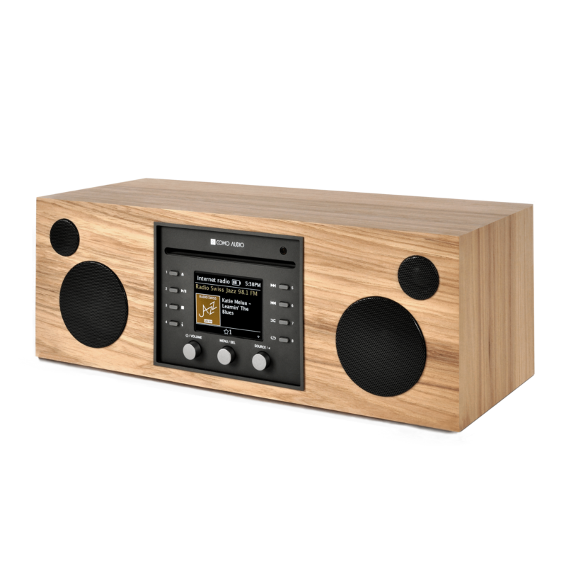 Como Audio Musica altavoz bluetooth con radio streaming Hickory