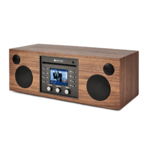 Como Audio Musica altavoz bluetooth con radio streaming WALNUT