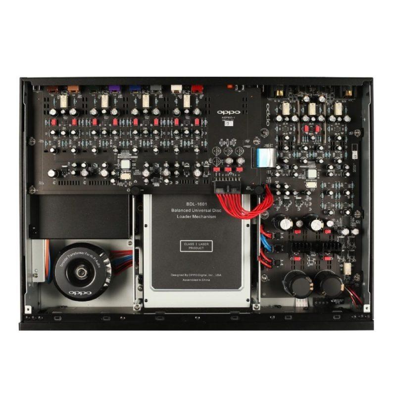 Oppo UDP-205 Reproductor de discos Blu-Ray 4K Ultra UHD de calidad para audiófilos